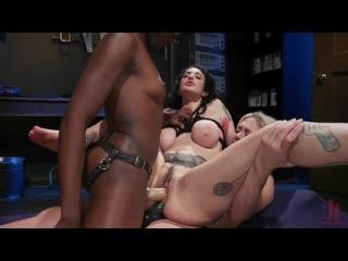 Dee Williams, Ana Foxxx and Arabelle Raphael [Lesbian, BDSM]