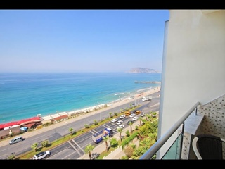 Ocean View Penthouse Apartment For Sale in Alanya Tosmur