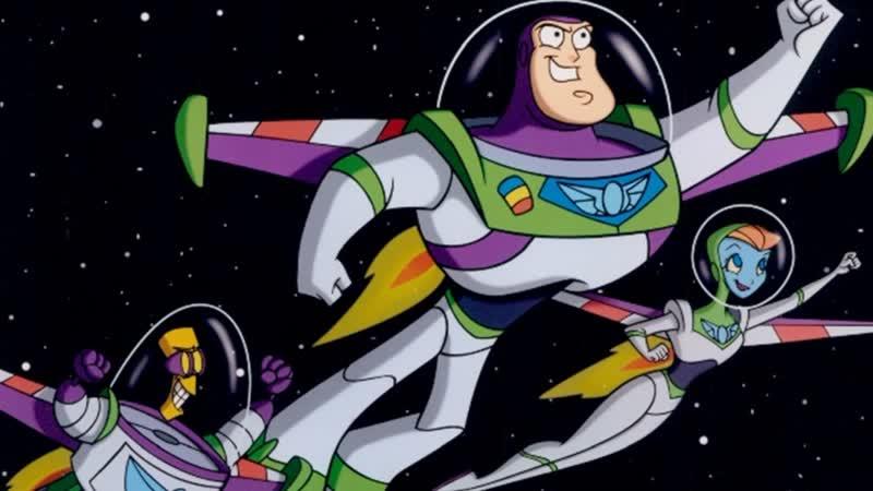 Заставка - Приключения Базза Лайтера из звёздной команды 360