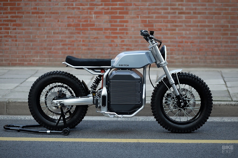 Switch Motorcycles: электроцикл eScrambler