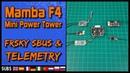 Mamba F4 Mini Power Tower - Frsky SBUS Telemetry