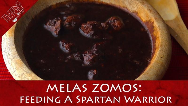 Spartan BLACK BROTH Melas Zomos