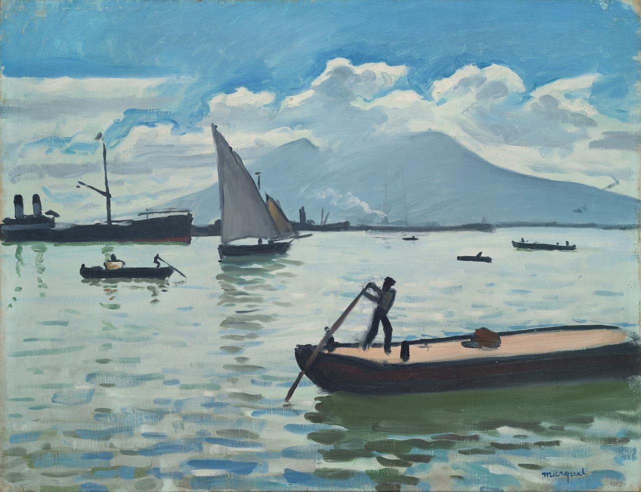 """Альбер Марке """"Неаполитанский залив"""", 1909"""