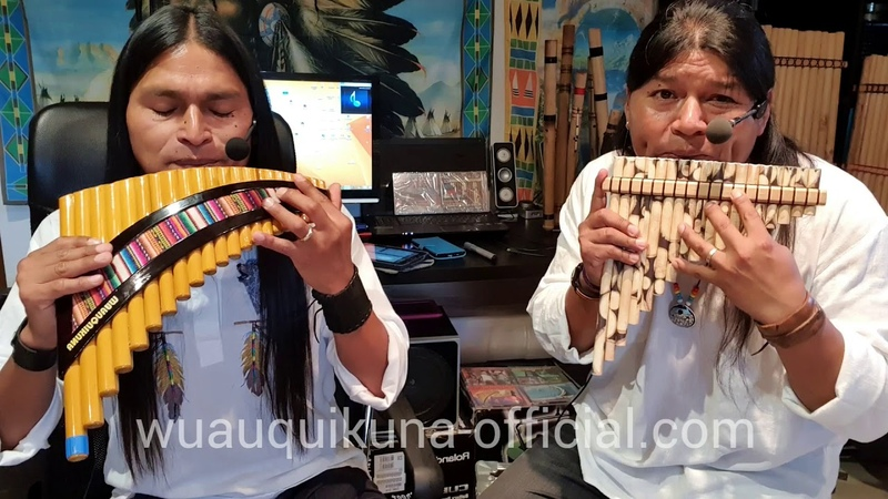 Song of Ocarina Cancion de Ocarina Panflute and Quenacho Instrumental WUAUQUIKUNA