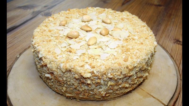 Постный торт Наполеон / Vegan Cake Napoleon