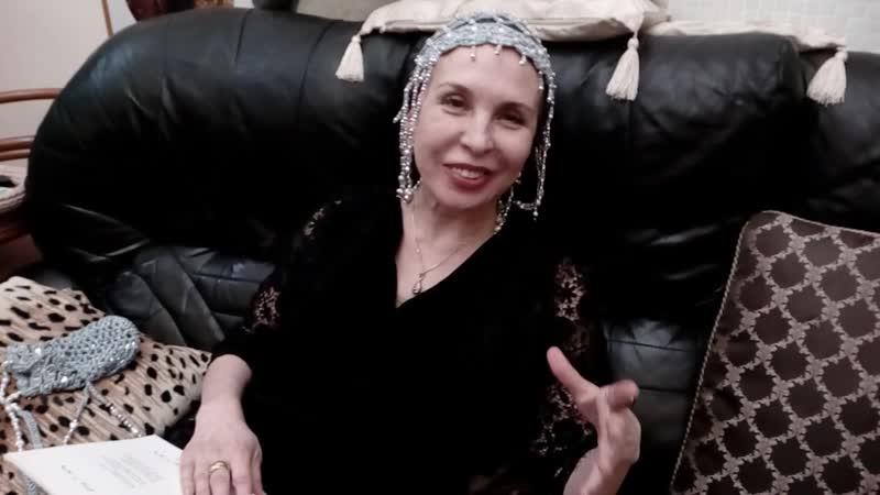 Ольга Обуховская читает свои стихи