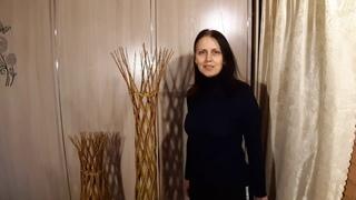 Плетеное дерево из ивы. Изготовление плетеного дерева своими руками из живого ивового прута