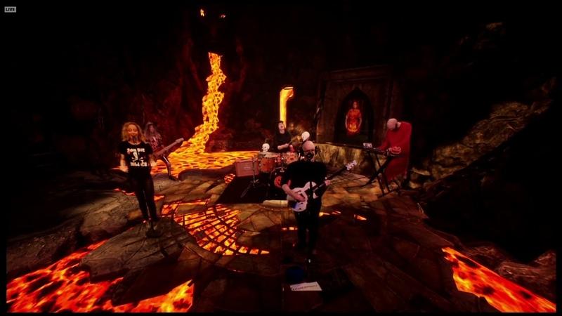 Devin Townsend ft Anneke van Giersbergen Pixillate LIVE Devin's Crappy Halloween Party 2020