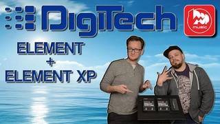 Гитарные процессоры DIGITECH ELEMENT+ELEMENT XP (Гитарный видеоблог)