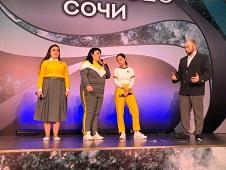 Сто тысяч рублей выиграли липецкие «Громокошки» на фестивале в Сочи