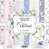 Набор скрапбумаги Tender orchid, 20x20см, Фабрика Декору 180 р. 1 шт. в наличии