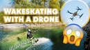 Drone Wakeskating In Slovenia