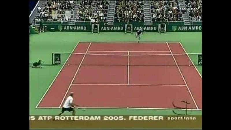 Roger Federer vs Ivan Ljubicic (2005 ABN AMRO World Tennis Tournament - Final)