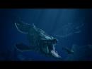 Мозазавр, суперхищник Юрского периода.
