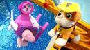 Мягкие игрушки Свинка Пеппа иДжордж УГНАЛИ ВЕРТОЛЕТ Скай измультика Щенячий Патруль