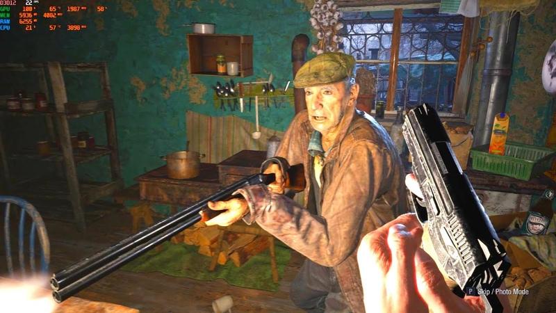 Resident Evil Village 4K Ultra Graphics GTX 1060 4K Ultra Settings