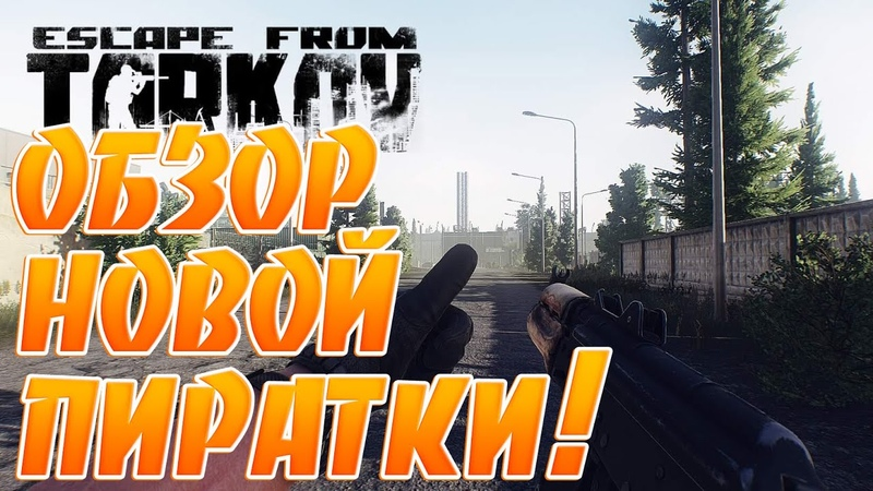 Обзор Пиратки Escape from Tarkov Сохранения Лута Боты ЧВК Игра за Дикого Квесты