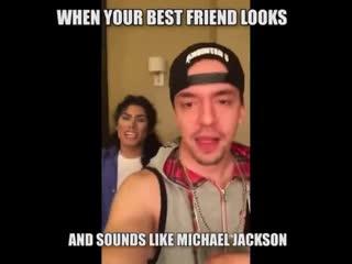 Когда твой друг вылитый Майкл Джексон