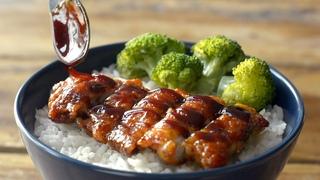 5 ingredient CRISPY CHICKEN TERIYAKI | Easy Recipe