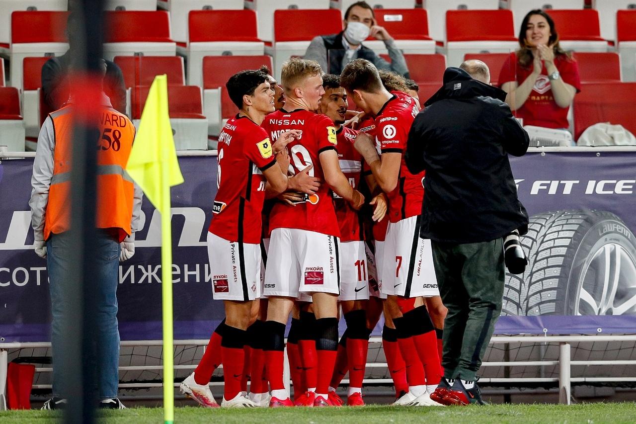 Спартак - Ахмат, 2:0