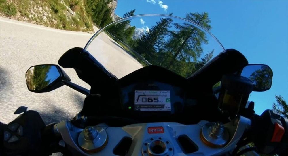 Тизер Aprilia RS660 (видео)