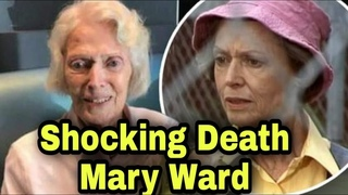 Veteran actress and Prisoner star Mary Ward dies 'peacefully' aged 106