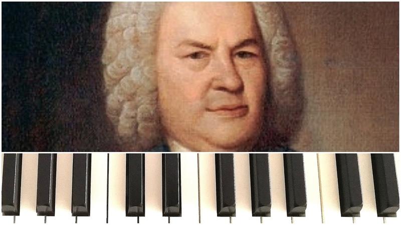 Инвенция №1 до мажор C dur 772 И С Бах Invention №1 in C major 772 Bach