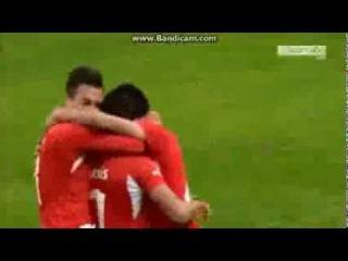 England : Chile Alexis Sanchez Goal ( England 0-1 Chile )