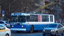 Троллейбус ЗиУ-682Г.016 №0026 с маршрутом №1 Стадион Родина - Улица Дружбы (г. Химки)
