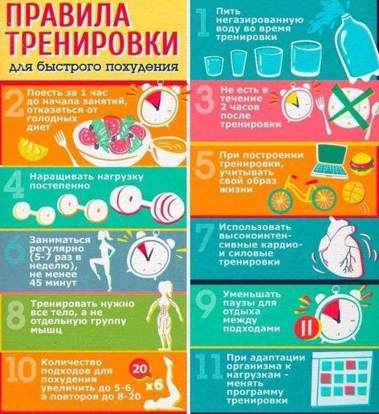 10 простых правил чтобы похудеть