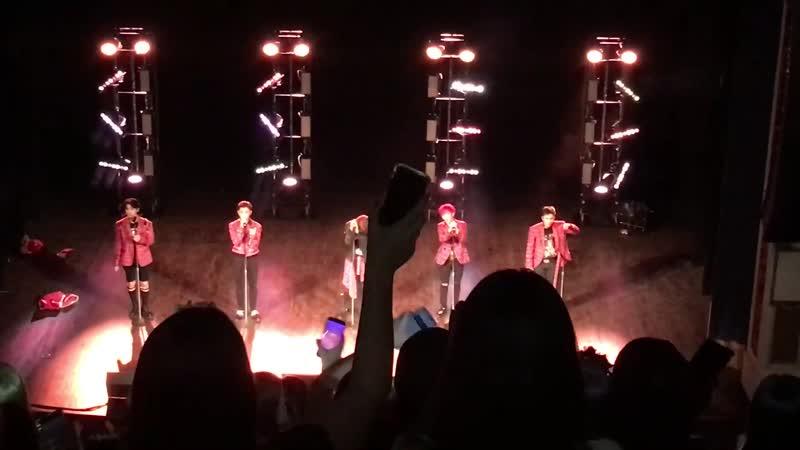 FANCAM | 061219 | A.C.E - 5tar @ UC: AREA US in Minneapolis Concert
