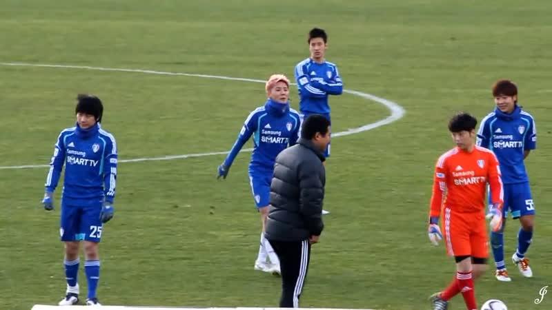 121117 FC MEN 자선 축구 경기 - 김준수