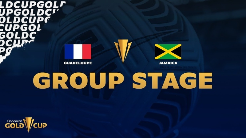 2021 Gold Cup Guadeloupe vs Jamaica