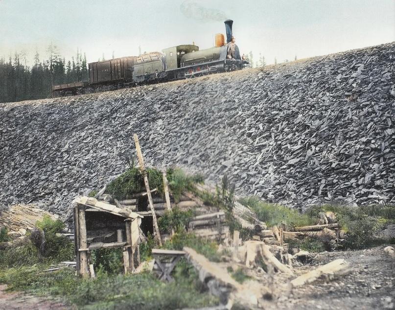 Первозданная железнодорожная Россия в цвете эпохи царской Империи глазами неизвестного фотографа, изображение №10