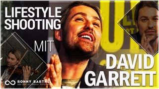 Lifestyle Fotoshooting mit David Garrett