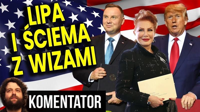 Ile Zapłaciliśmy Za Wizy do USA Samo Poniżenie Prezydenta Dudy i Ściema TVP Analiza Komentator