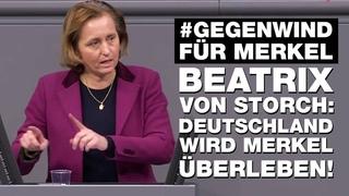 Brilliante MdB Beatrix von Storch ZERSTÖRT Merkill KOMPLETT in nur 4 MINUTEN! | #GegenwindFürMerkel