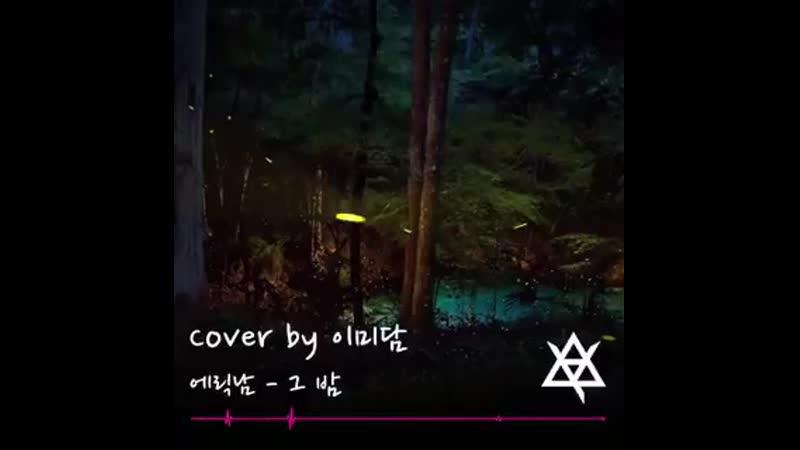 Eric Nam - night  full ver. cover by lee midam