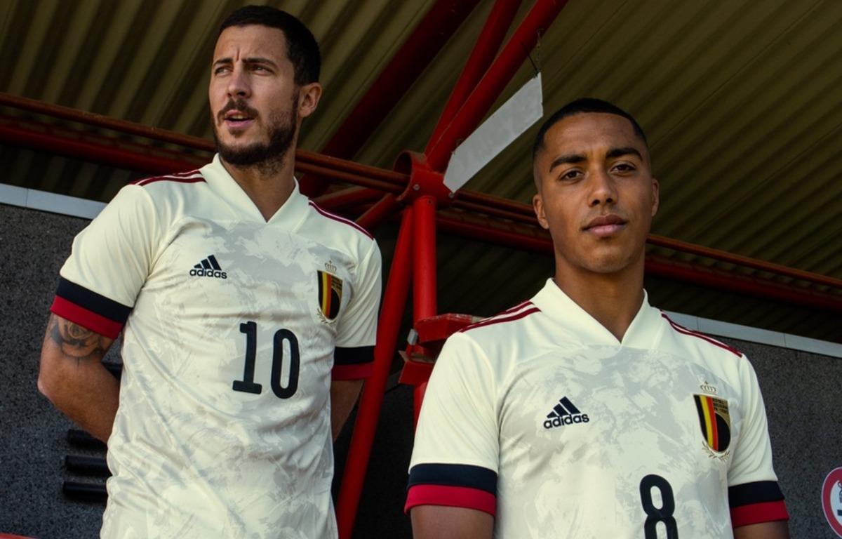 Гостевая форма сборной Бельгии 2020
