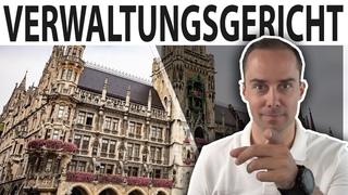 VERWALTUNGSGERICHTSHOF LIVE - aus München mit Markus Haintz