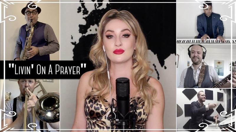 Robyn Adele Anderson Livin' On A Prayer Bon Jovi cover
