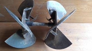 Самодельный  окучник. Роторный. Обзор, размеры. Rotary spud.