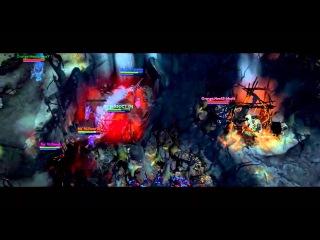 [DotaFX] TI3 - The Epic Play -  - Mushi Aegis Steal!