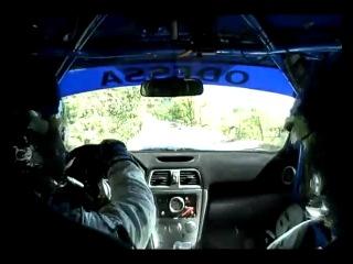 Видео из авто - PRIME Ялта Ралли 2010 ЧАПОВСЬКИЙ
