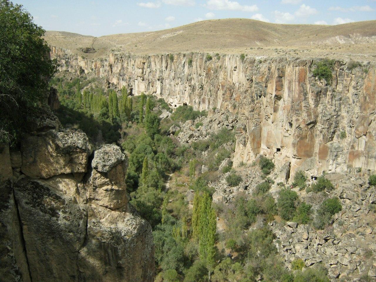 каньон долины Ыхлара