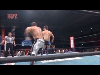 IWU Prince Devitt vs. Davey Richards - NJPW Circuit 2010 New Japan Alive