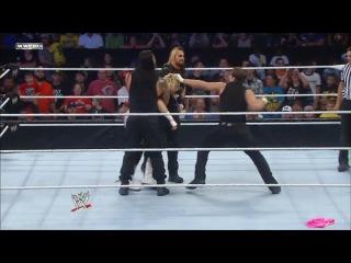 [WM]] SmackDown : Gauntlet Match: Prime Time Players, Dolph Ziggler, Kofi Kingston & Rob Van Dam vs. The Shield