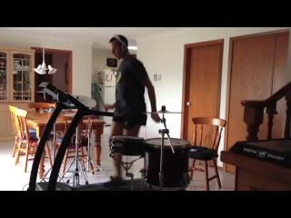 The Treadmill Drummer 2 All The Small Things Blink 182 Drum Cover