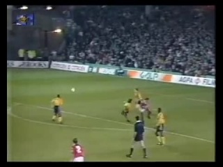 48 ECCC-1991/1992 Arsenal FC - SL Benfica 1:3 (06.11.1991) HL