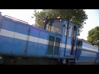 Schmalspurzug mit Schoma CHL 150G Narrow gauge train in Germany
